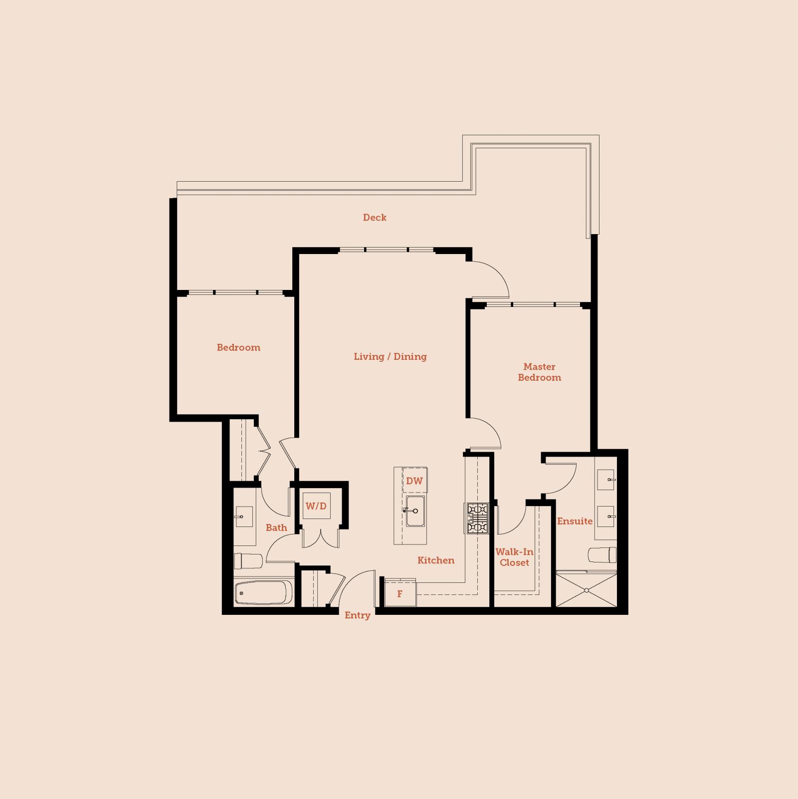 Plan Penthouse 2
